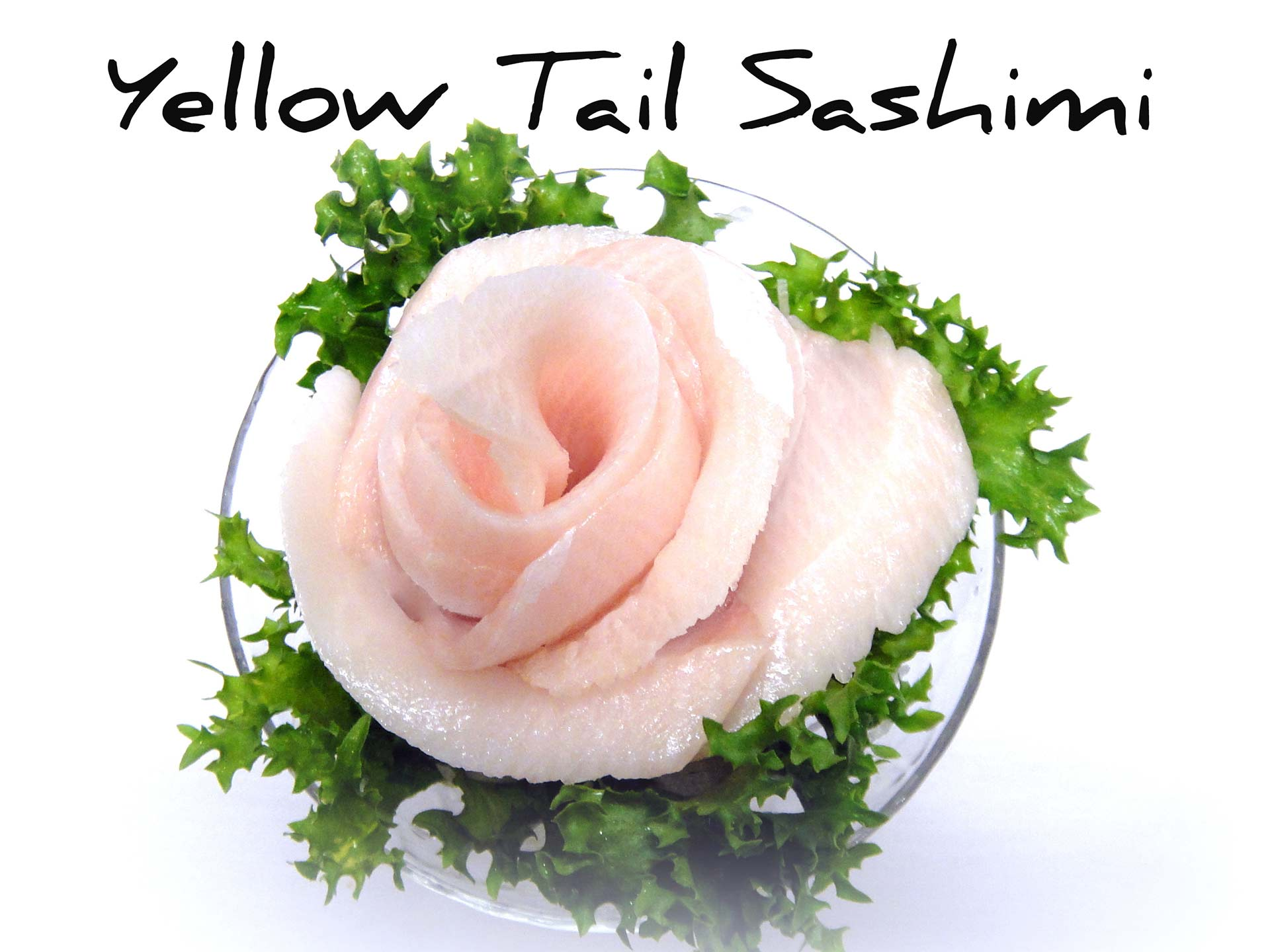 Yellow-Tail Sashimi